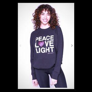 Spiritual Gangster Peace Love Light Sweatshirt